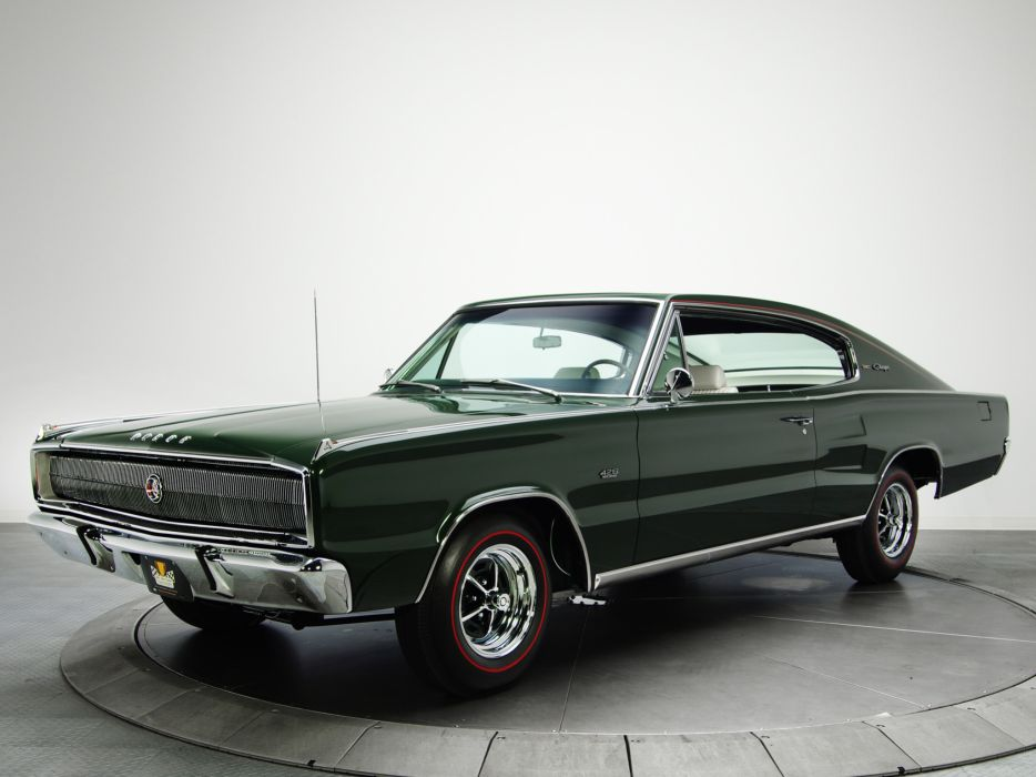 1967 Dodge Charger R-T 426 Hemi muscle classic wallpaper