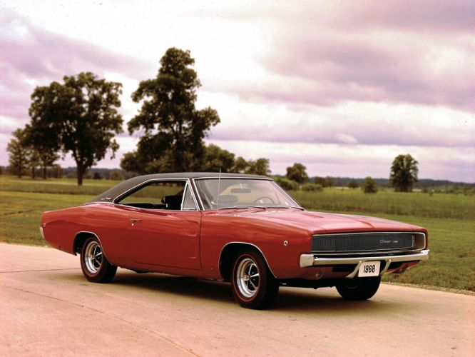 1968 Dodge Charger muscle classic wallpaper
