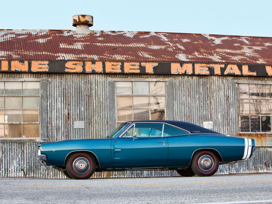 1968 Dodge Charger R-T 426 Hemi muscle classic h wallpaper