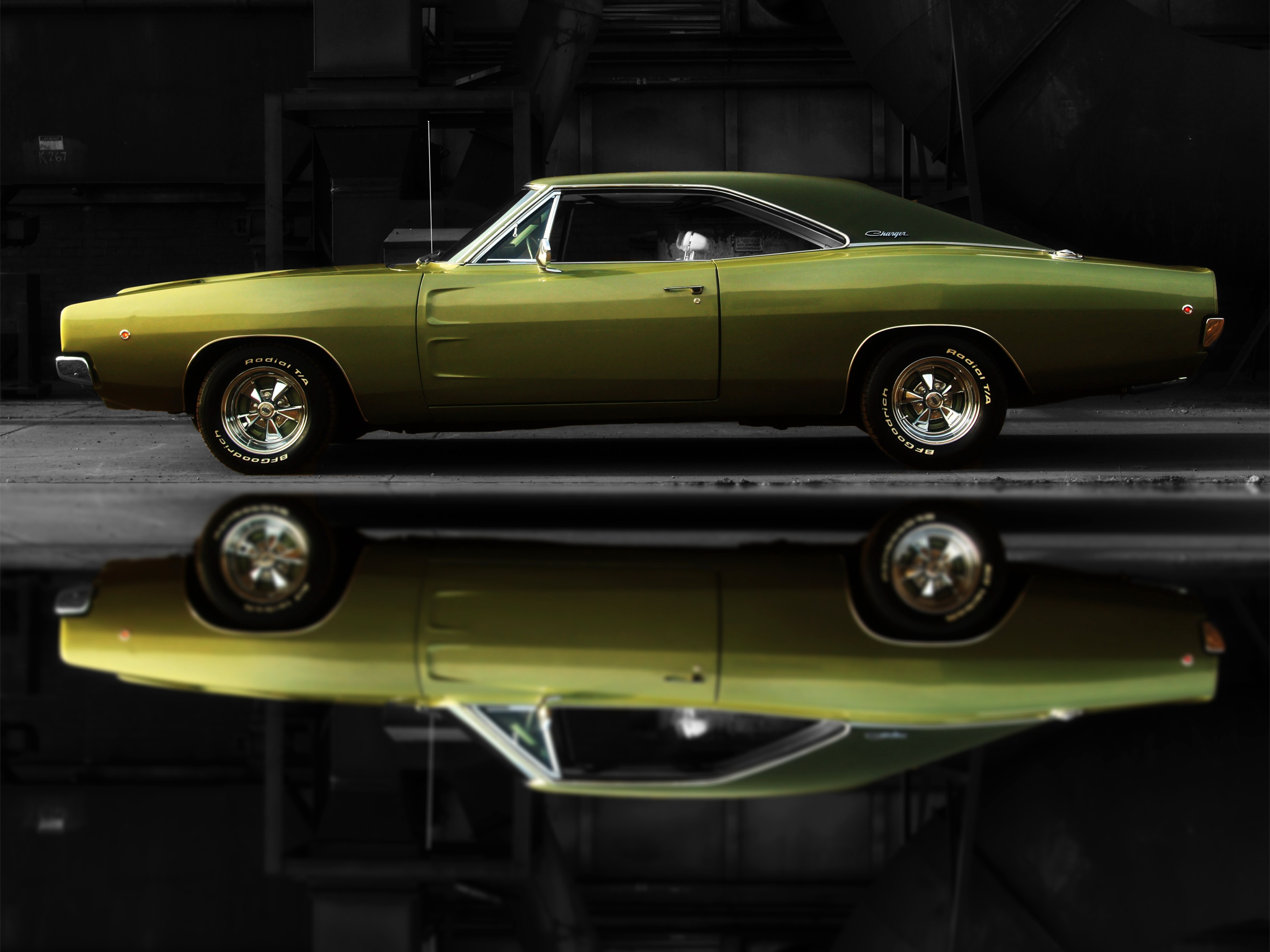 1968 Dodge Charger R T Muscle Classic Hot Rod Rods