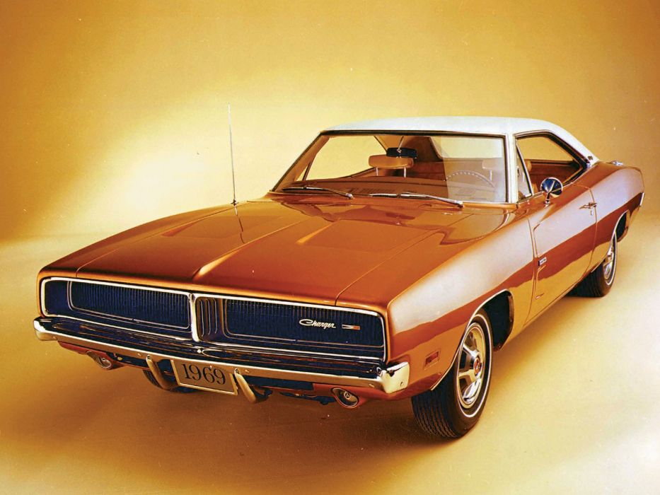1969 Dodge Charger muscle classic wallpaper