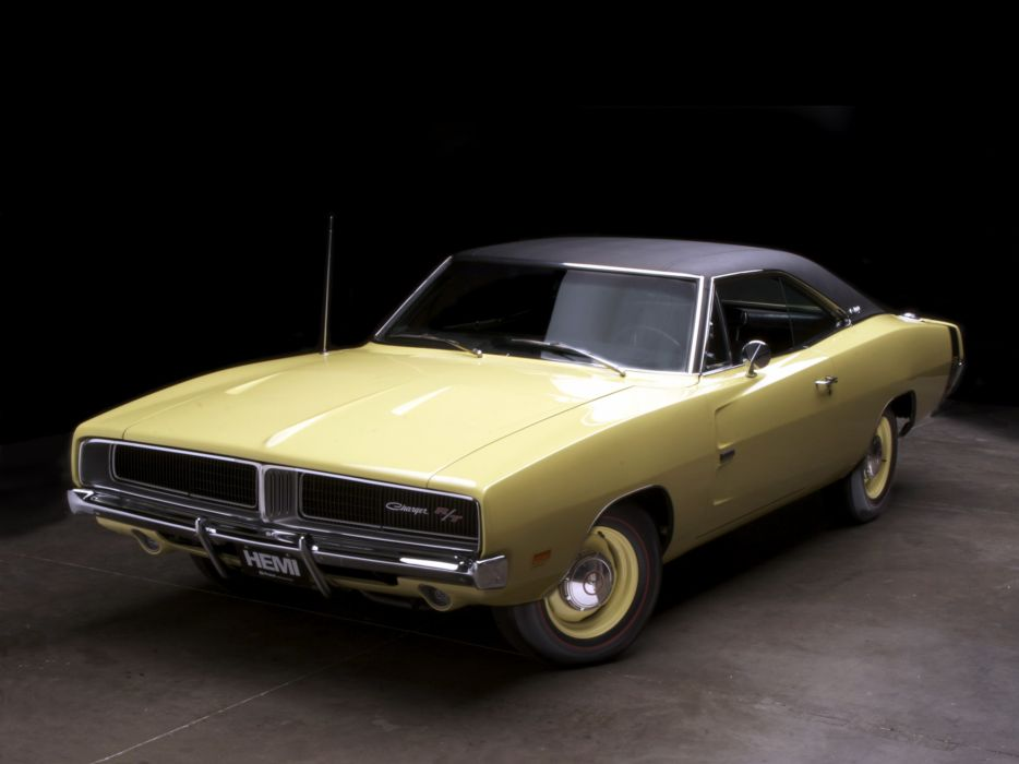 1969 Dodge Charger R-T 426 Hemi XS29 muscle classic     d wallpaper
