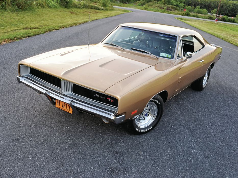 1969 Dodge Charger R-T XS29 muscle classic hot rod rods wallpaper