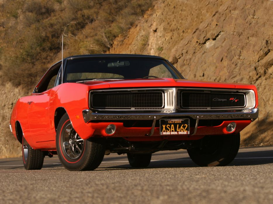 1969 Dodge Charger R-T XS29 muscle classic wallpaper
