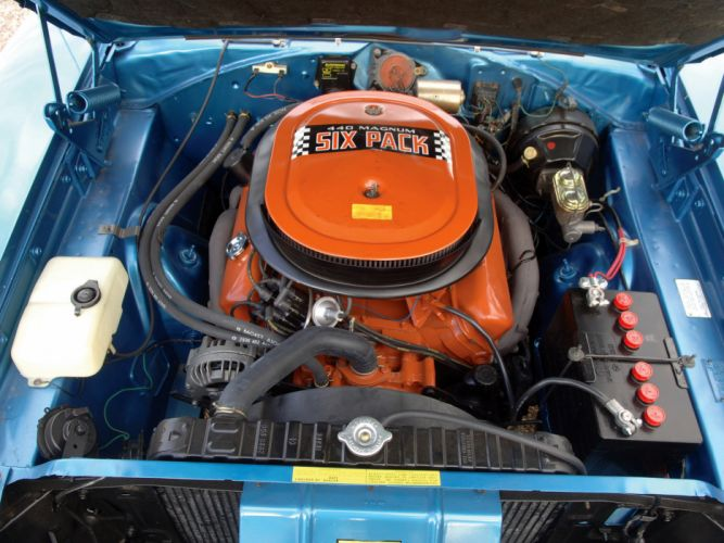 1970 Dodge Charger R-T 440 Six-Pack muscle classic engine engines wallpaper