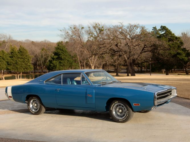 1970 Dodge Charger R-T 440 Six-Pack muscle classic wallpaper