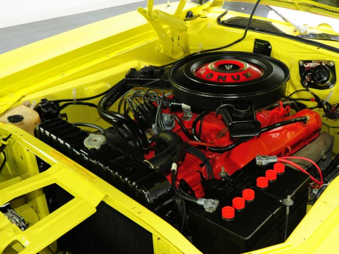1971 Dodge Charger R-T 440 Magnum muscle classic engine engines wallpaper