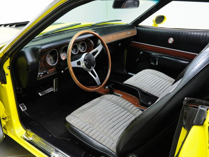 1971 Dodge Charger R-T 440 Magnum muscle classic interior wallpaper