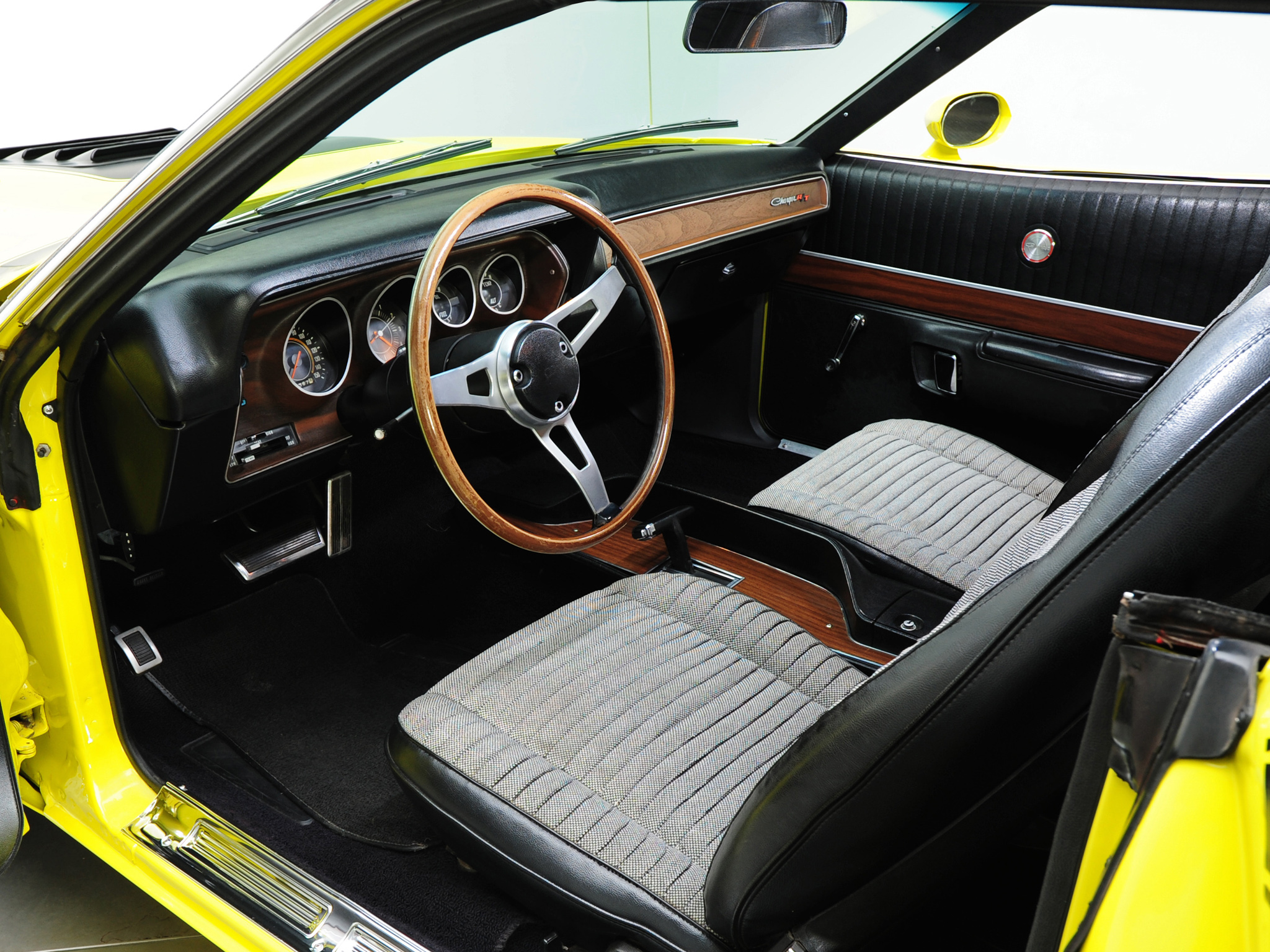1971 Dodge Charger R-T 440 Magnum muscle classic interior ...