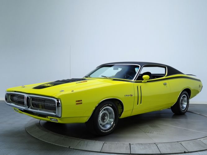 1971 Dodge Charger R-T 440 Magnum muscle classic wallpaper