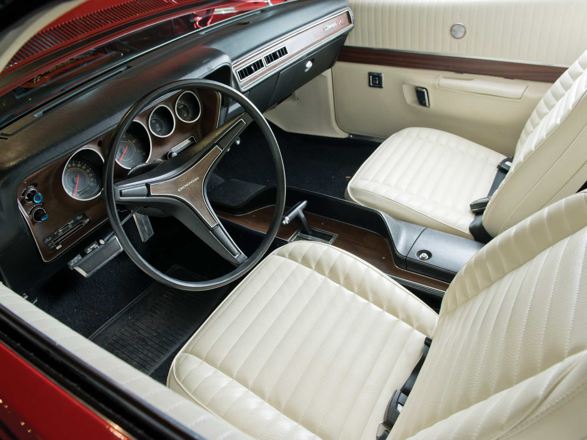 1971 Dodge Charger R T Muscle Classic Interior Wallpaper