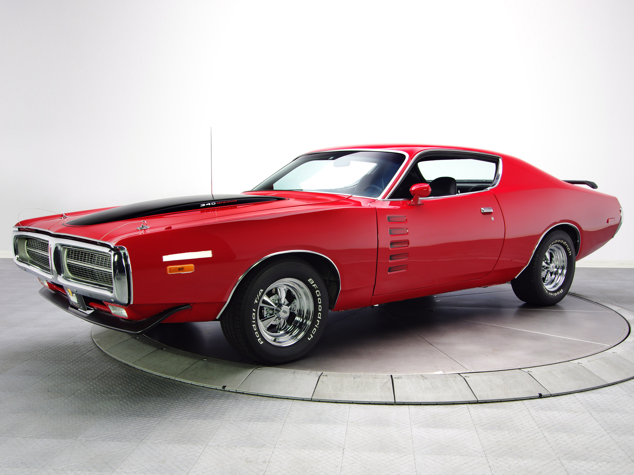 1972 Dodge Charger Rallye 340 Magnum Muscle Classic Hot