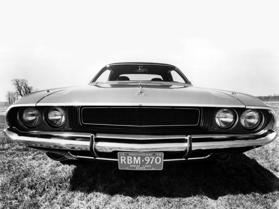 1970 Dodge Challenger Muscle Classic F Wallpaper