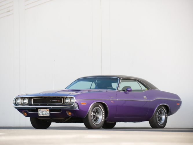 1970 Dodge Challenger R-T 383 Magnum muscle classic wallpaper