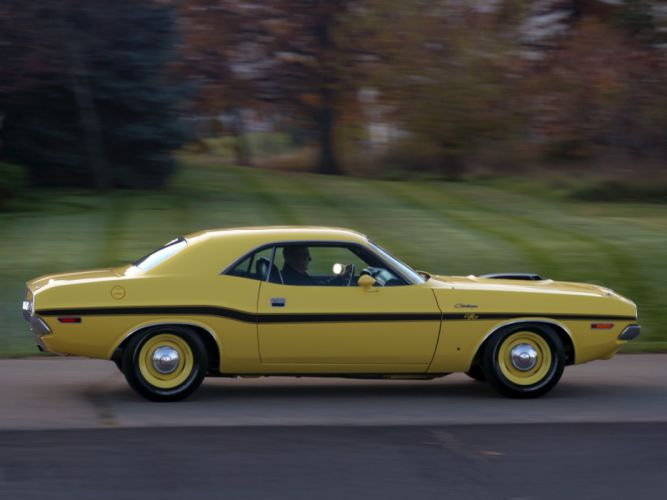 1970 Dodge Challenger R-T 426 Hemi muscle classic g wallpaper
