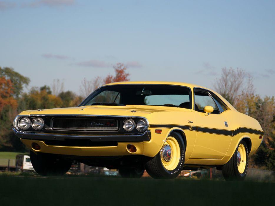1970 Dodge Challenger R-T 426 Hemi muscle classic f wallpaper
