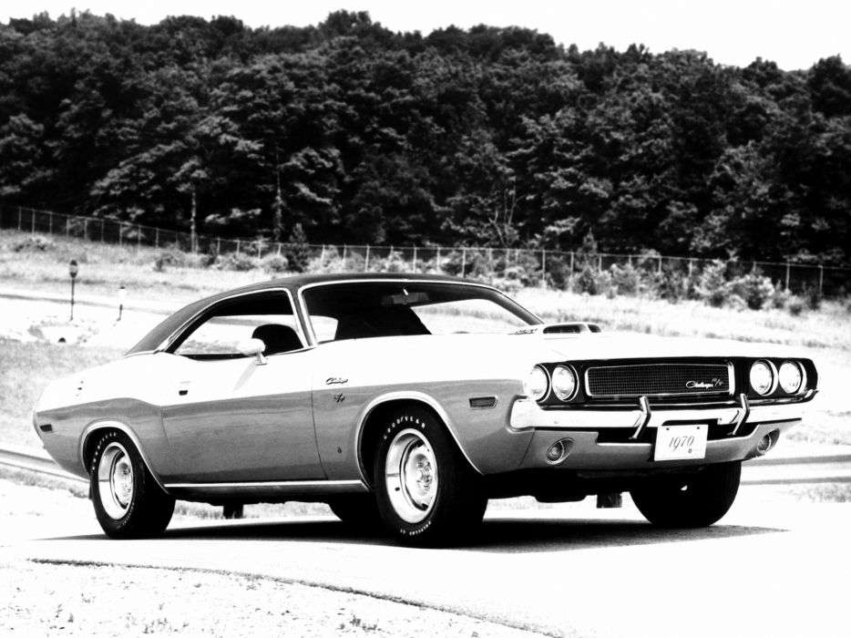1970 Dodge Challenger R-T 440 Six Pack muscle classic   f wallpaper