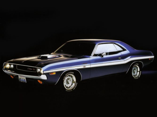 1970 Dodge Challenger R-T 440 Six Pack muscle classic wallpaper