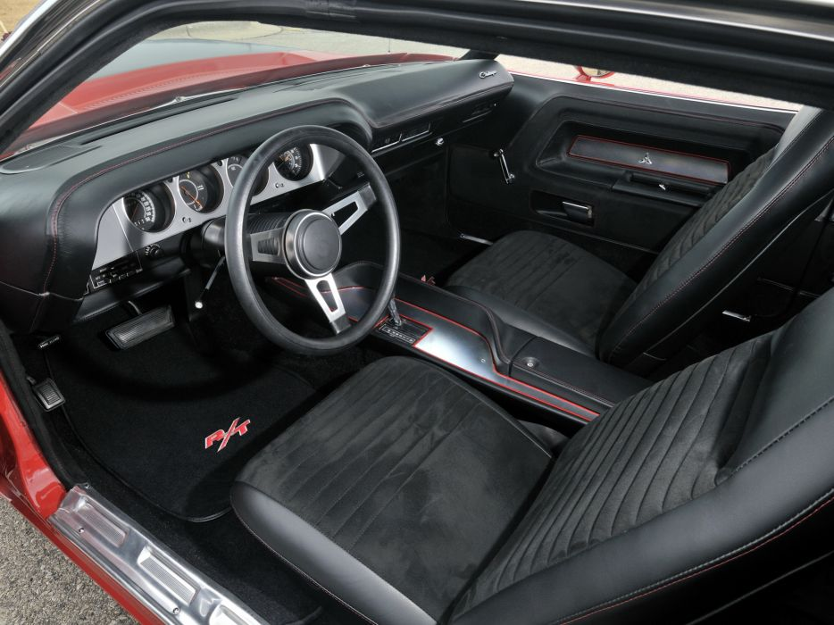 1970 Dodge Challenger R T Muscle Classic Interior Wallpaper