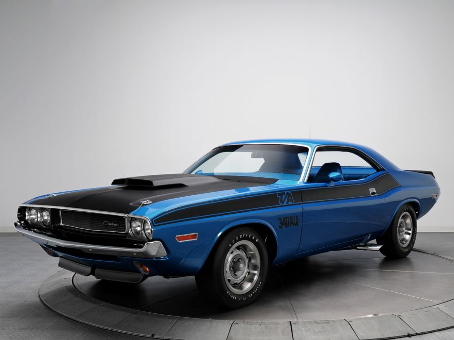 1970 Dodge Challenger T-A 340 Six Pack muscle classic   r wallpaper