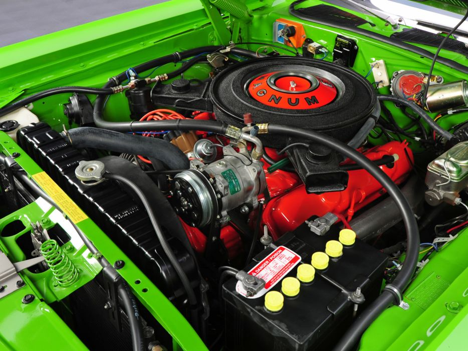 1971 Dodge Challenger R-T 383 Magnum JS23 muscle classic engine engines wallpaper