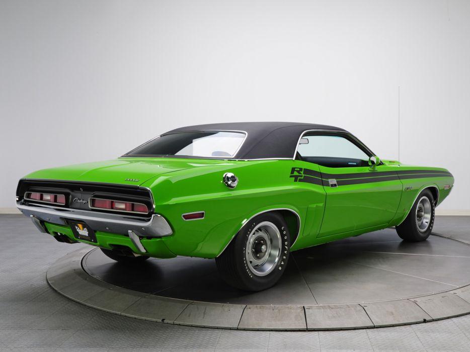 1971 Dodge Challenger R-T 383 Magnum JS23 muscle classic wallpaper
