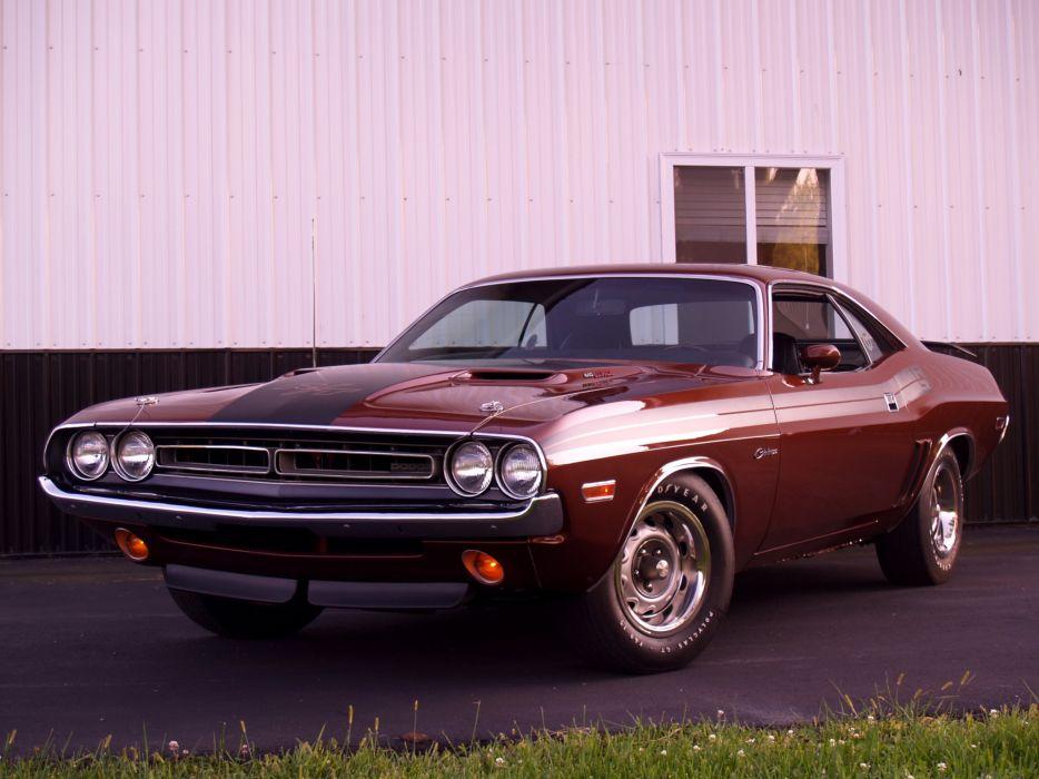 1971 Dodge Challenger R-T 440 Six Pack JS23 muscle classic wallpaper