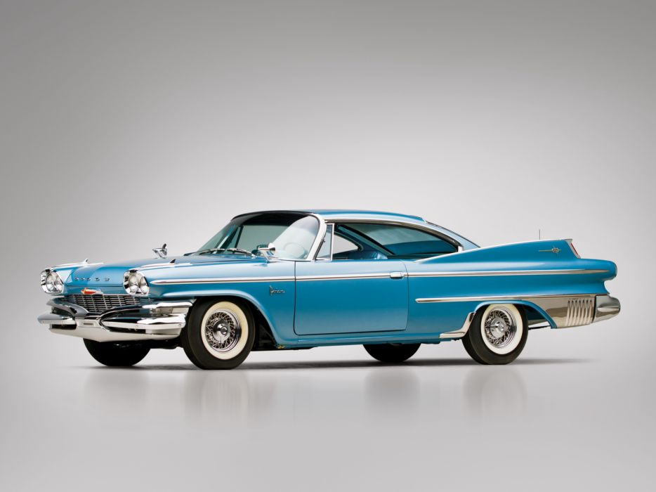 1960 Dodge Polara D-500 Hardtop Coupe muscle classic    f wallpaper