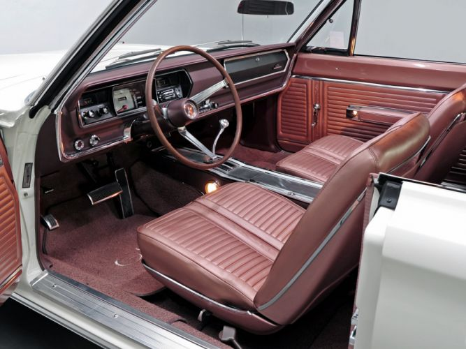 1967 Plymouth Belvedere GTX 426 Hemi muscle classic interior wallpaper