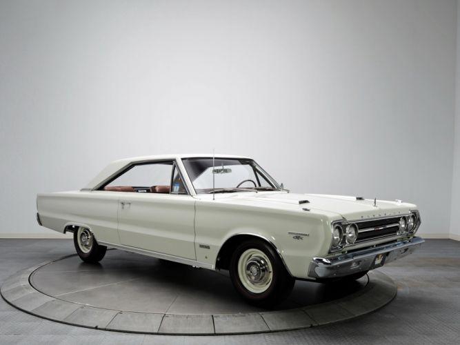 1967 Plymouth Belvedere GTX 426 Hemi muscle classic wallpaper