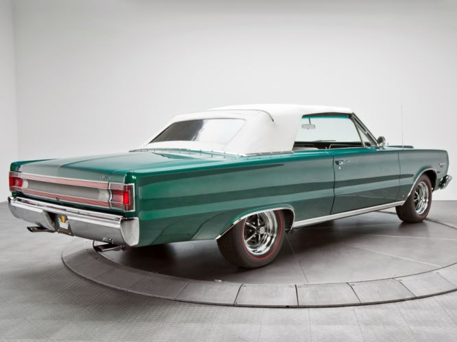 1967 Plymouth Belvedere GTX 440 Convertible RS27 muscle classic f wallpaper