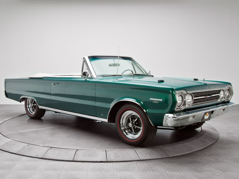1967 Plymouth Belvedere GTX 440 Convertible RS27 muscle ...
