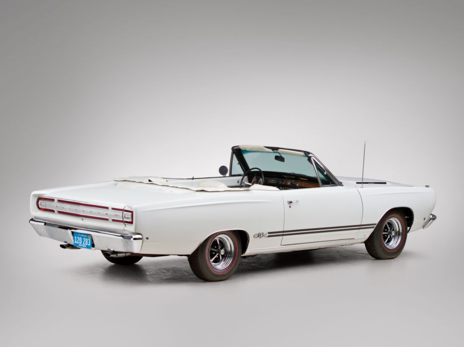 1968 Plymouth GTX 440 Convertible RS27 muscle classic    f wallpaper