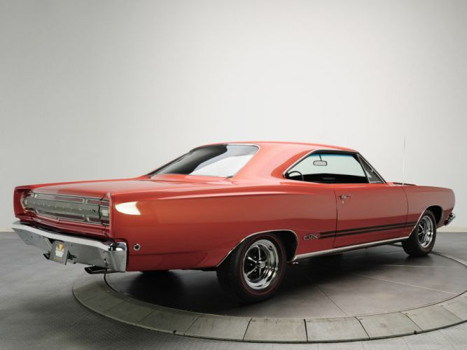 1968 Plymouth GTX 440 RS23 muscle classic wallpaper