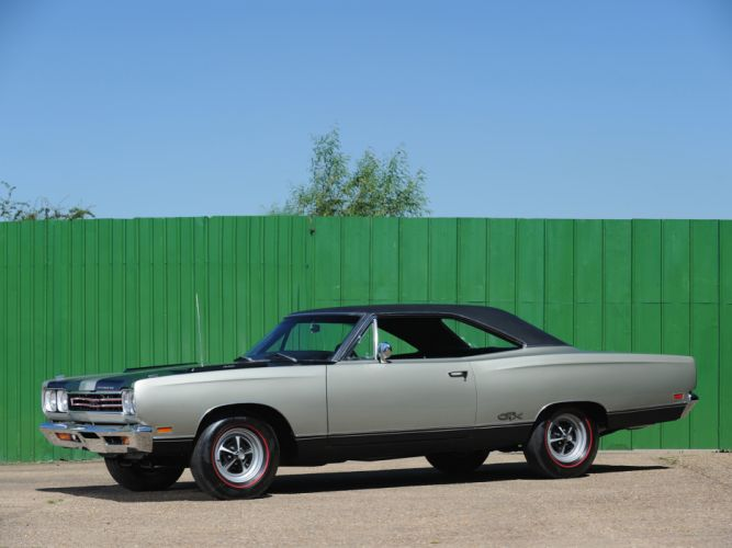 1969 Plymouth GTX 440 RS23 muscle classic wallpaper
