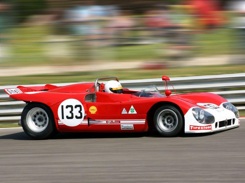 1971 Alfa Romeo Tipo 33 TT3 Spider race racing classic   gw wallpaper