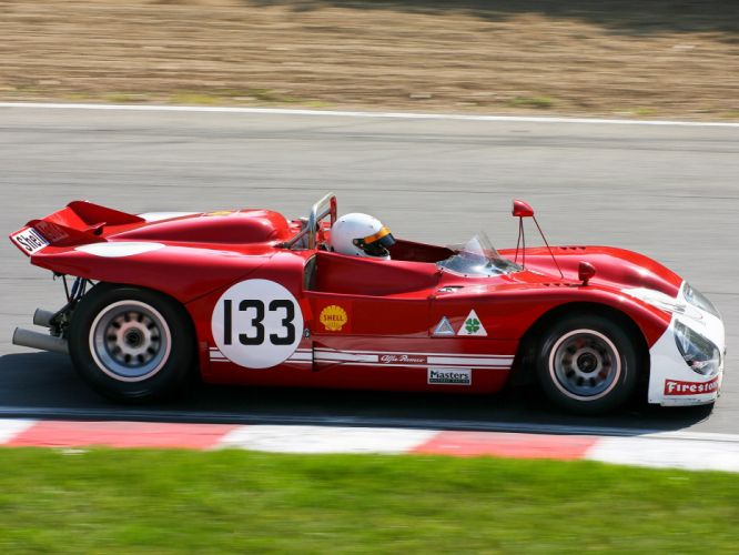 1971 Alfa Romeo Tipo 33 TT3 Spider race racing classic g wallpaper