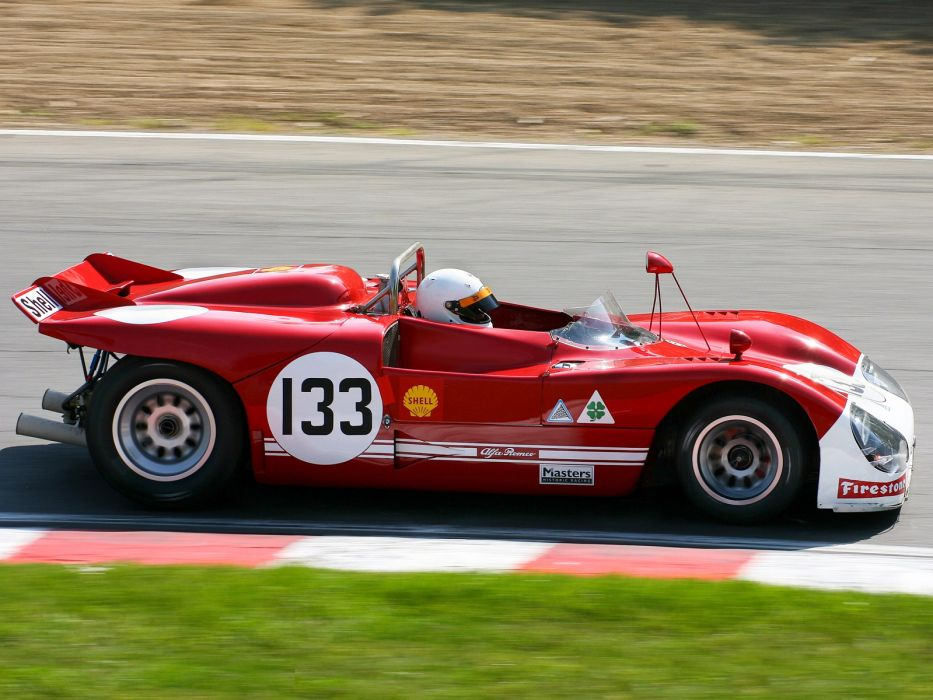 1971 Alfa Romeo Tipo 33 TT3 Spider race racing classic  g wallpaper