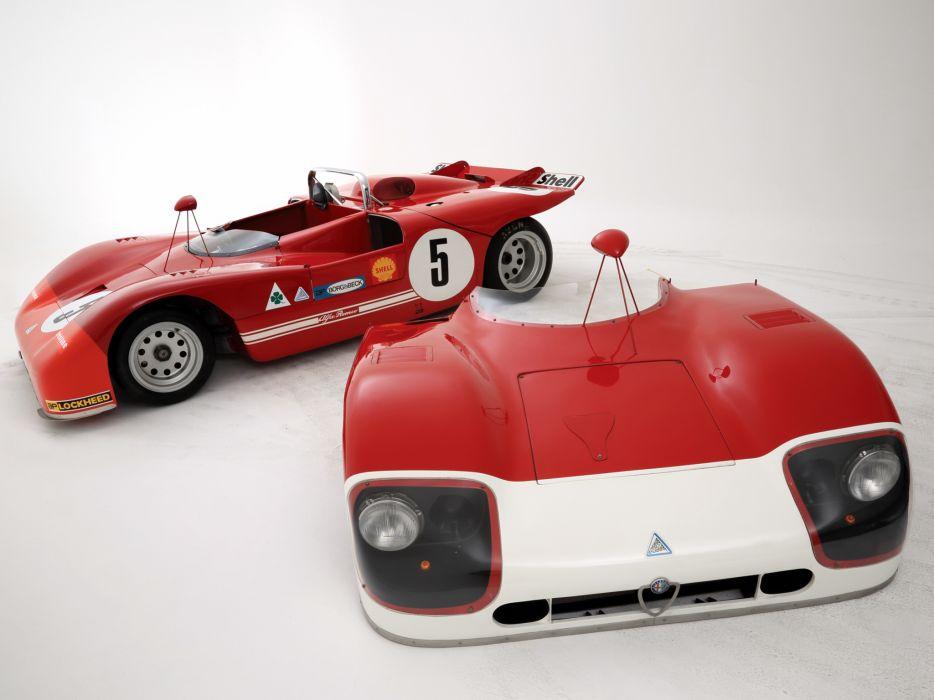 1971 Alfa Romeo Tipo 33 TT3 Spider race racing classic wallpaper