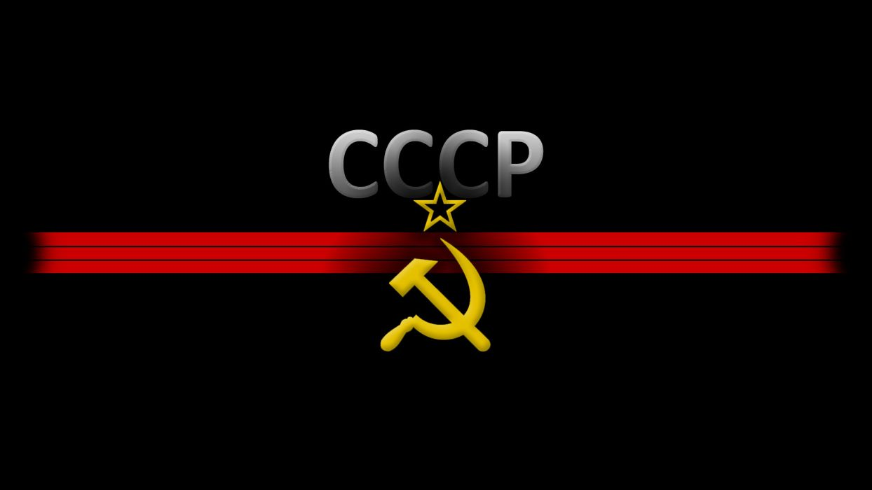 ussr hammer and sickle wallpaper