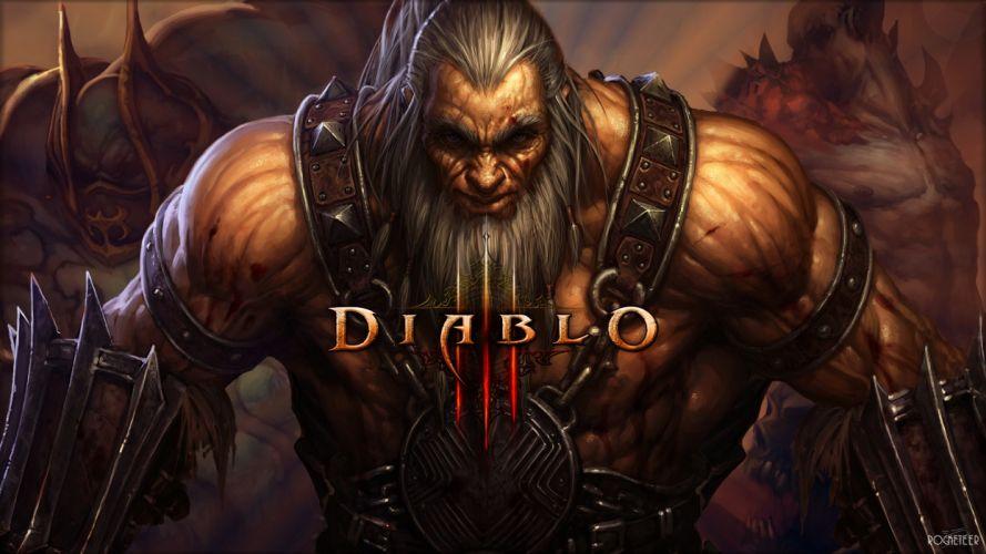 Diablo fantasy warrior warriors wallpaper