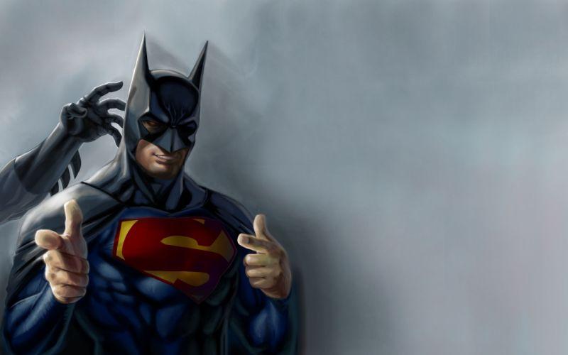Heroes comics Batman hero supeman humor funny superhero wallpaper
