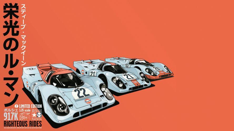 porsche race racing poster posters wallpaper
