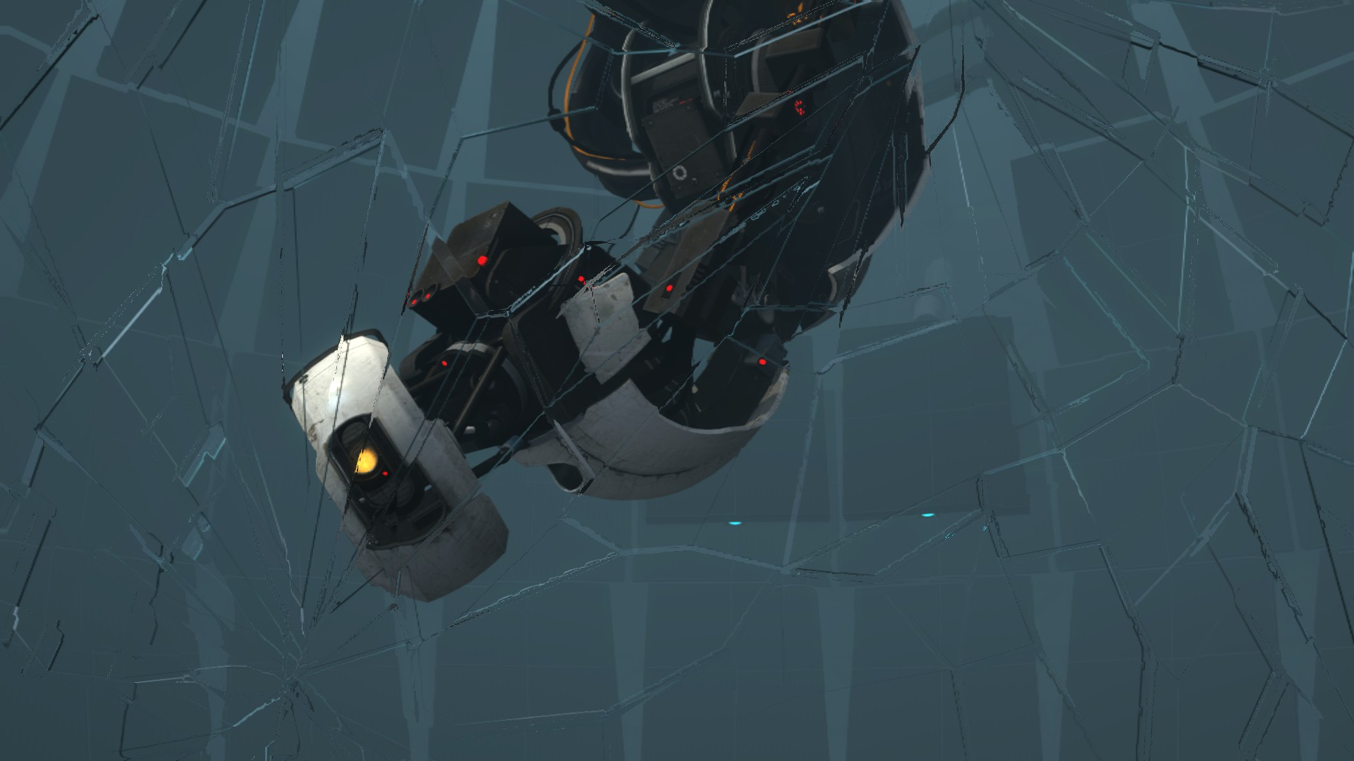 glados portal 2 spoiler wallpaper pictures to pin on pinterest