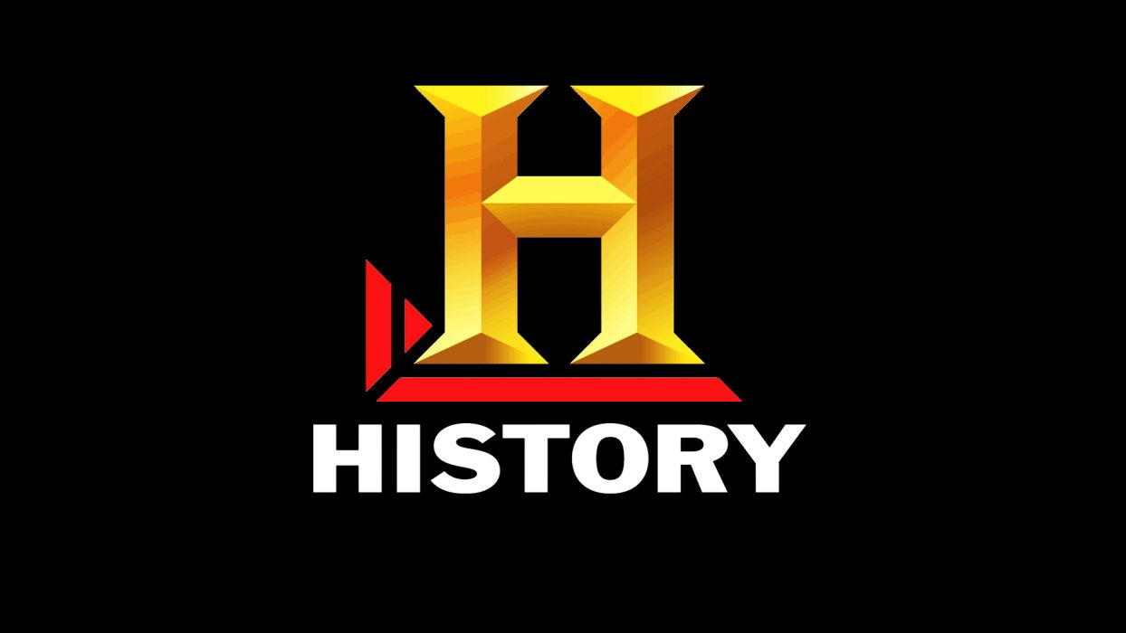 The History Channel Black Logo Wallpaper