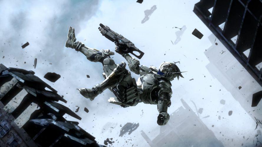 Vanquish warrior warriors sci-fi wallpaper