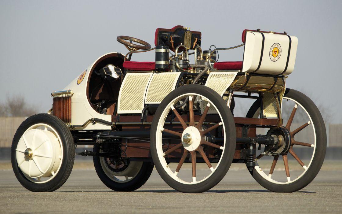 1900 Lohner Porsche Semper Vivus retro wallpaper