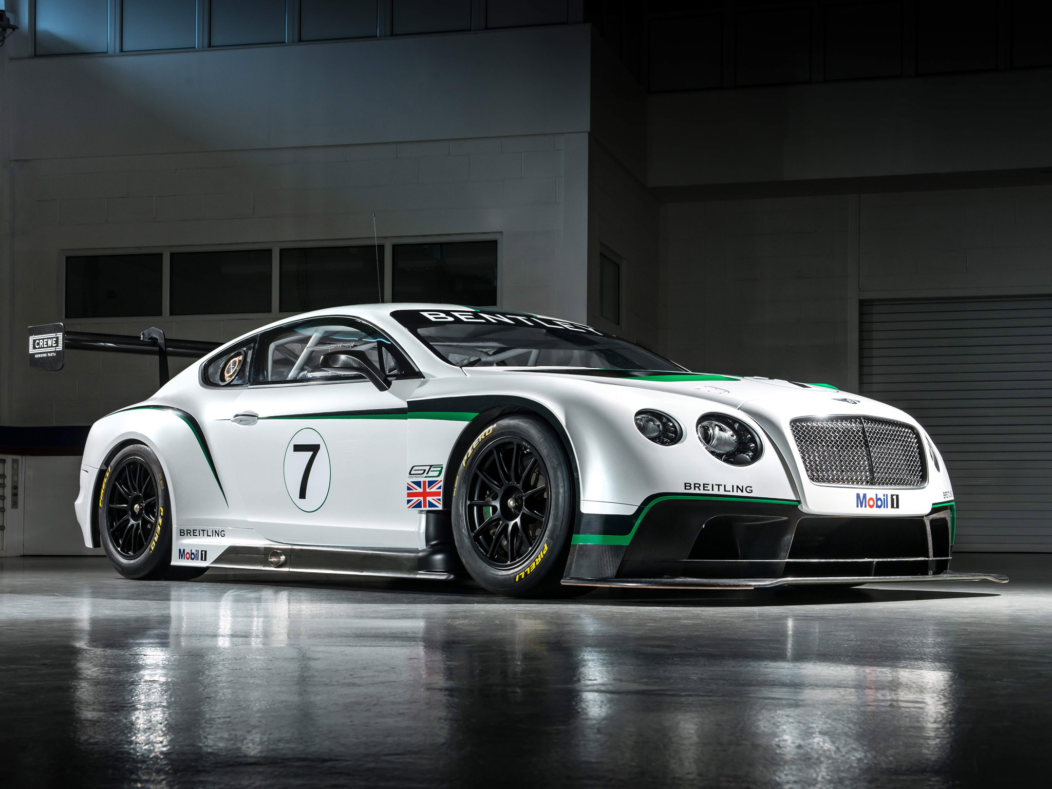 2013 Bentley Continental GT3 Supercar Supercars Race