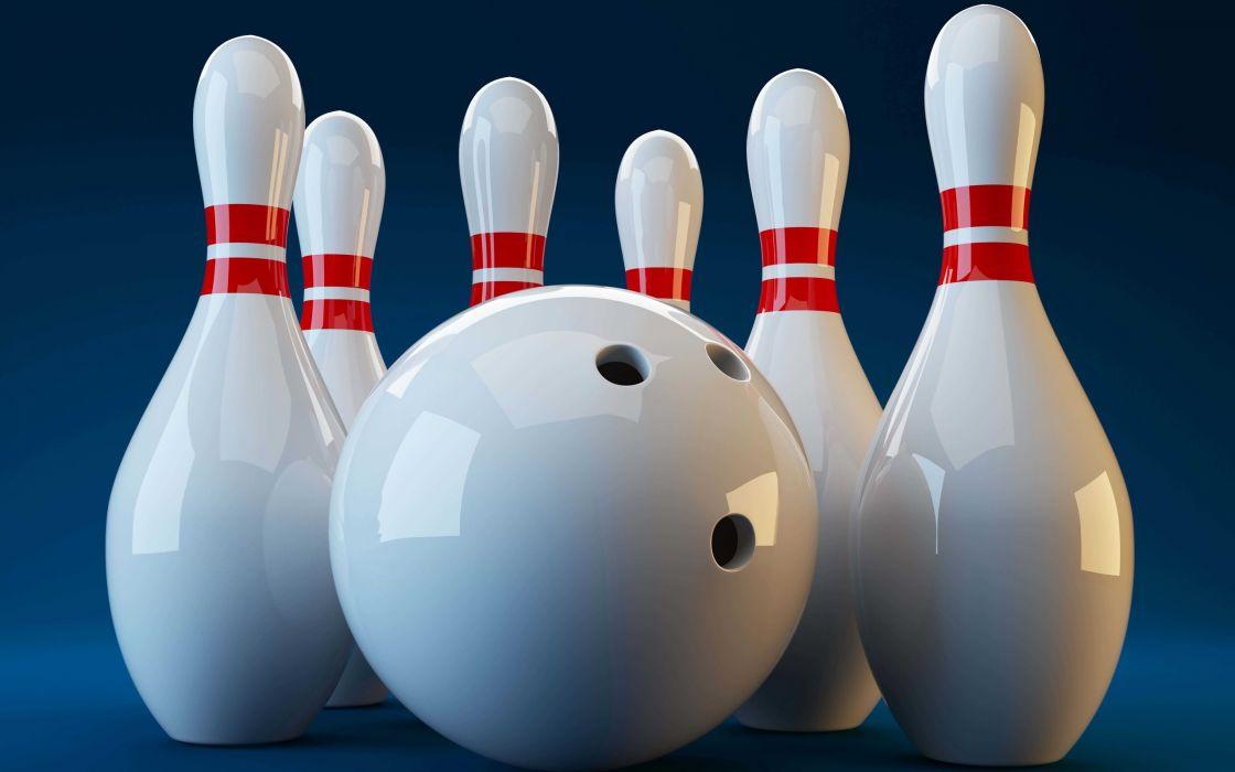 bowling white ball sports wallpaper