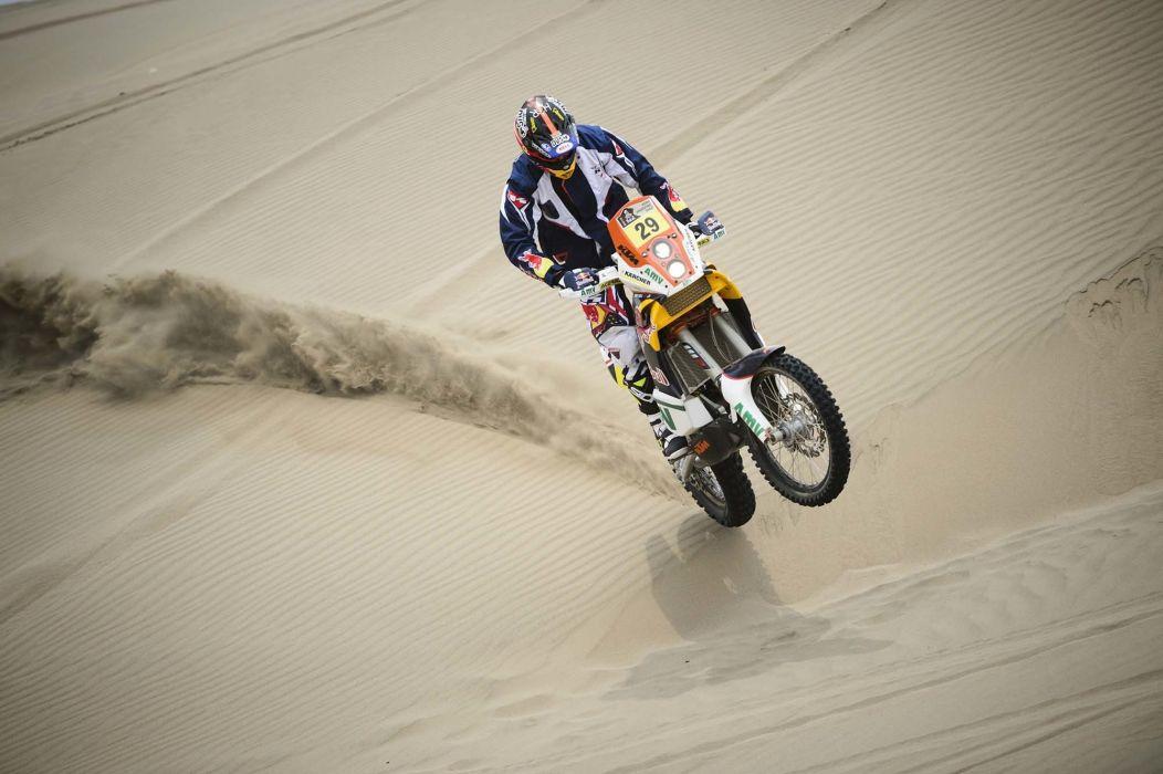 KTM sand rally motorcycle race racer dakar moto racing wallpaper